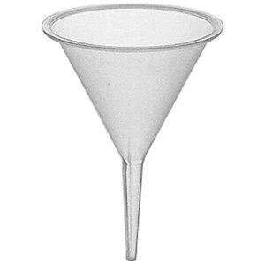 Photo of wide mouth funnel for use with spray colognes