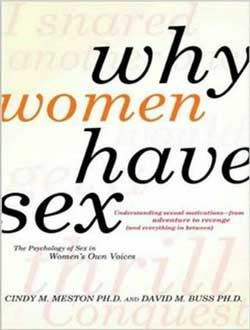 Cindy Meston book on why women have sex